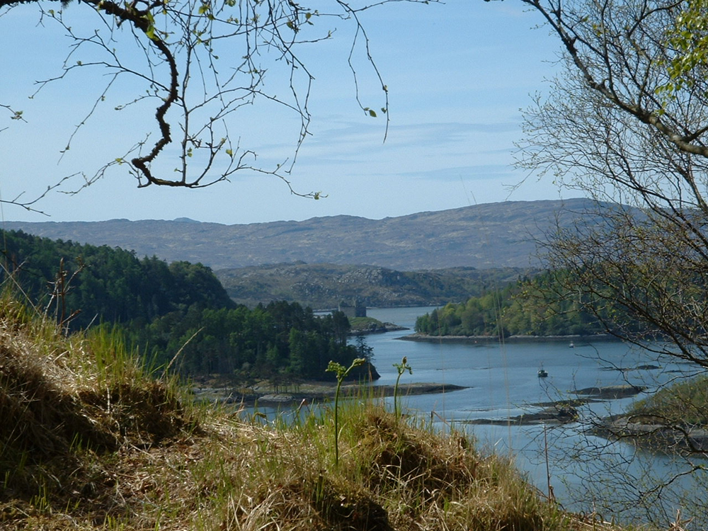 Photo Gallery Looking Toward Castle Tioram From The